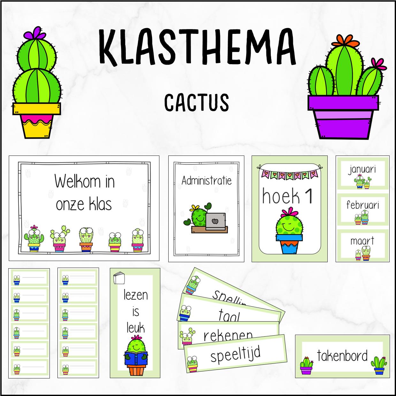 Klasthema cactus