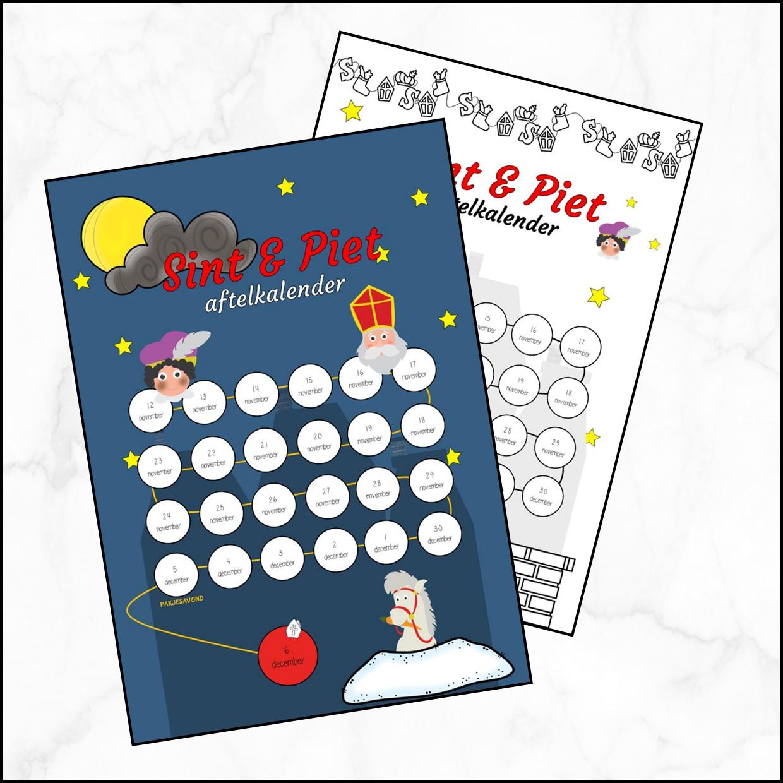 Aftelkalender Sint & Piet