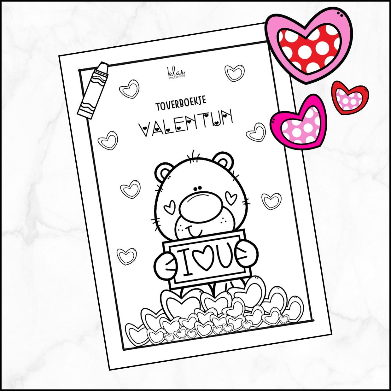 Kleuren op code Valentijn