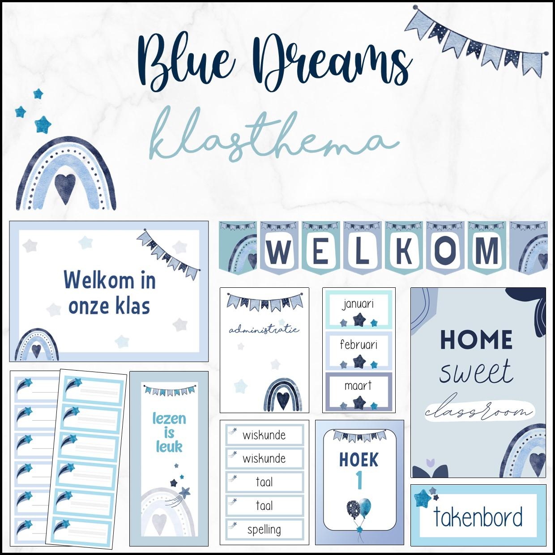 Klasthema Blue Dreams